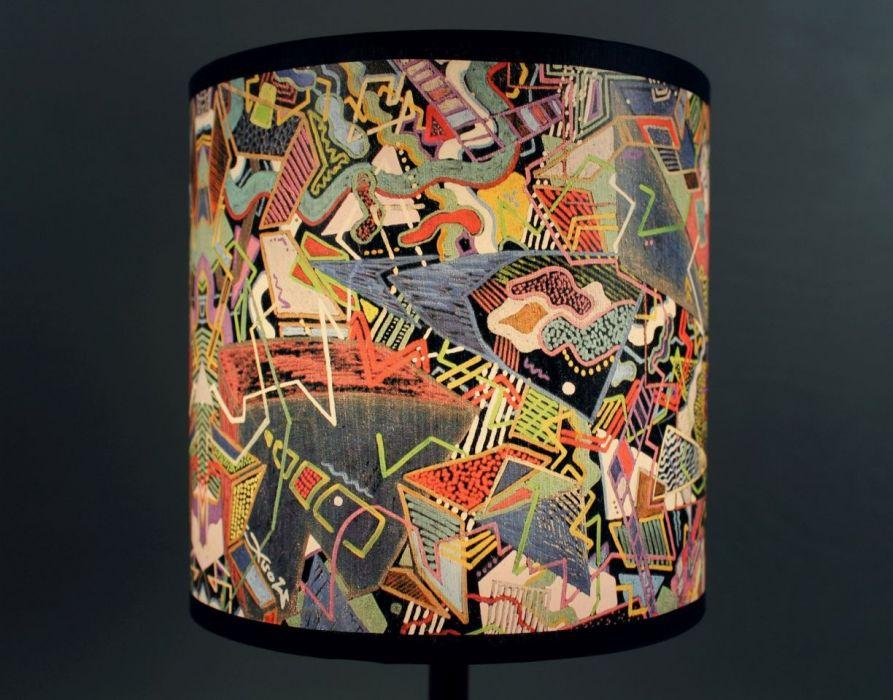 """Lampa nocna stojąca z obrazu """"eMOTOGEN"""" S - Lampa daje ładne, rozproszone światło"""