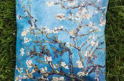 Poduszka - Kwitnący migdałowiec, van Gogh