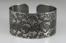 Metalowa bransoleta - pnącza 171202-03
