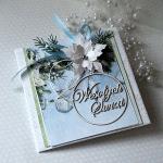 """Kartka świąteczna """"Wesołych Świąt"""" v.2"""
