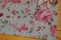 Bieżnik - piękne róże na miętowym tle 53 x 140 cm