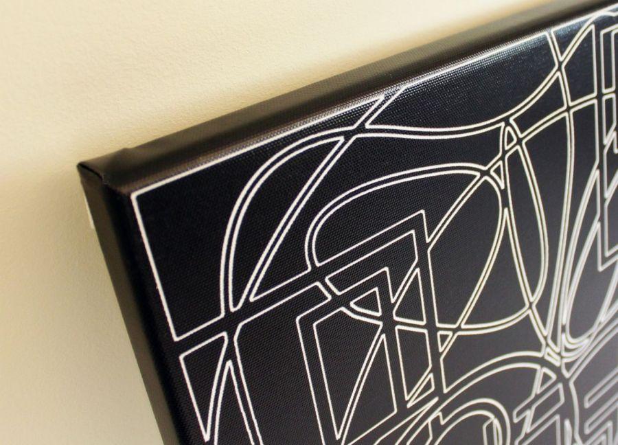 """Obraz """"wYOBRAŻAJ"""" wydruk na płótnie 40x60cm - gotowy do zawieszenia na ścianę"""