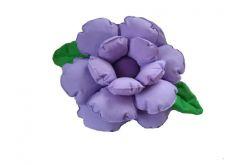 Poduszka ozdobna kwiat jasny fiolet