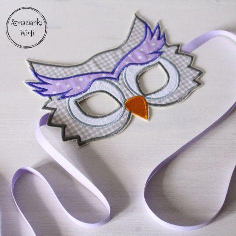 Maska dla dzieci i dorosłych - SOWA