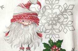 Tkanina bawełna - świąteczne skrzaty