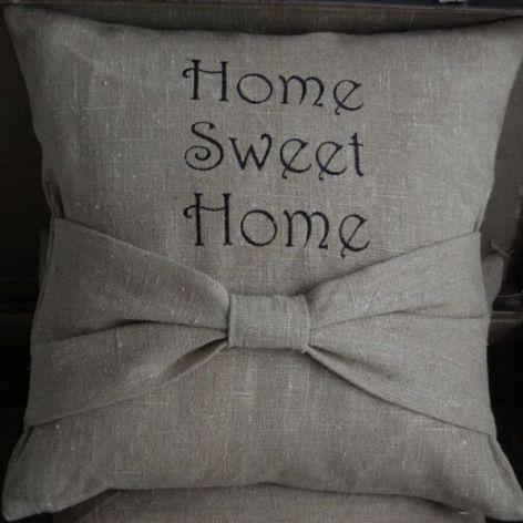 """Home sweet home"" - poszewki"