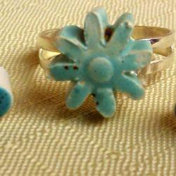 komplet biżuterii ceramiczny 3