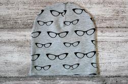 Czapka Okulary rozmiar 48-54 cm(beanie)