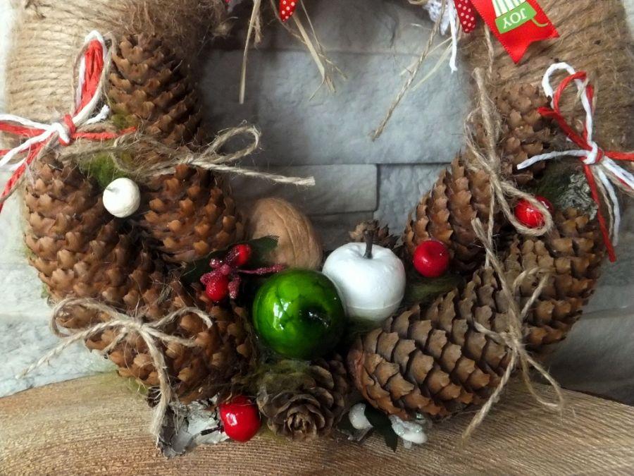 Wianek stroik Boże Narodzenie