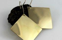 Kwadraty - mosiężne kolczyki 191029-06