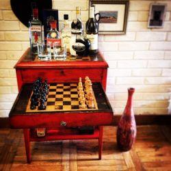 Stolik/ barek/ szachownica