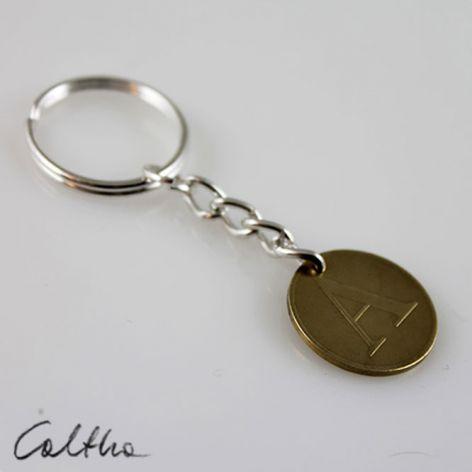 Żeton A - breloczek moneta