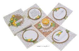 Box ślubny z tortem naturalny eco