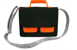 Mess gray-black-orange