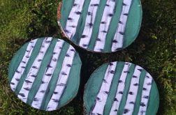 Magnes na lodówkę drewienko brzozy