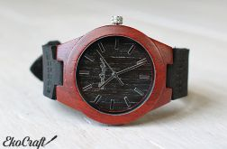 Drewniany zegarek BLACK WOODPECKER