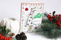 Choineczka - kartka świąteczna