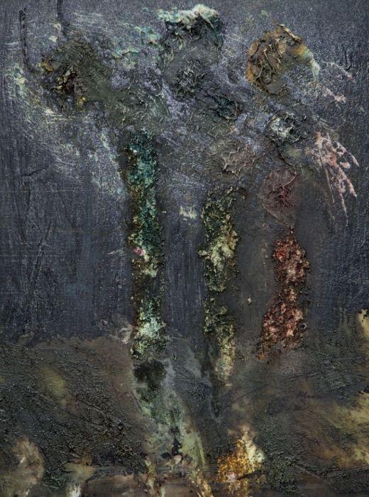 obraz zielone drzewa