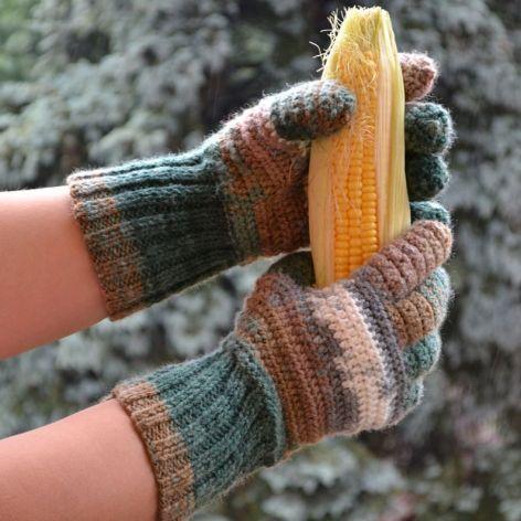 Rękawice męskie pięciopalczaste ;o)