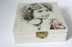 RETRO - szkatułka decoupage