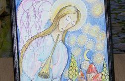 Ilustracja Anioł opiekun