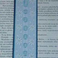 Niebieska zakładka - Blue bookmark