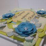 Kartka dla babci - niebieska (1)