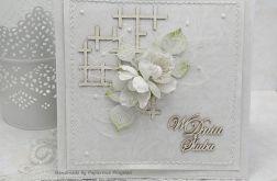 Ślubna biel - komplet z pudełkiem