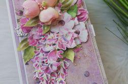 Pudełko na kawę w fiolecie