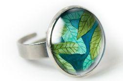 Figowiec pierścionek z ilustracją