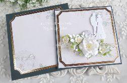 Kartka ślubna w pudełku 370