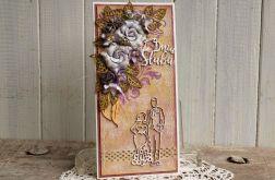 Kartka ślubna #8 (z kopertą)