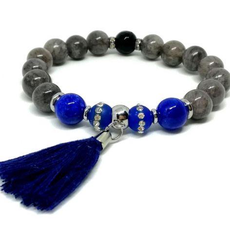 CLASIC BLUE - kamienie naturalne i stal
