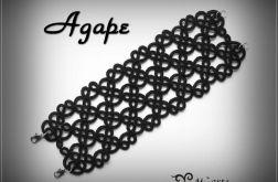Bransoletka koronkowa - Agape