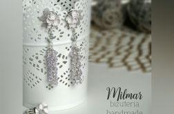 Kolczyki z Fimo + Swarovski +pierścionek
