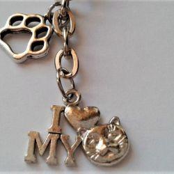 Breloczek dla właściciela kota :)