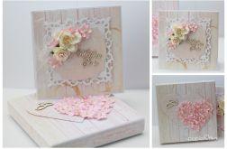 Ślub - pudełko z kartką 2