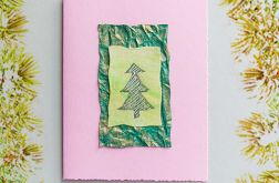 Kartka  świąteczna minimalizm 20