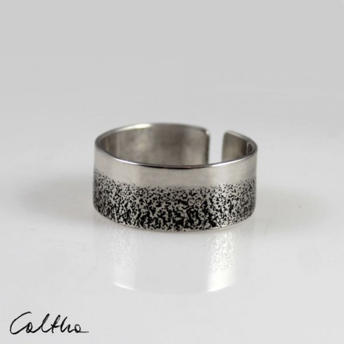 Piasek - srebrny pierścionek  210112-01