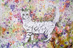 Kot w Palheiro Garden