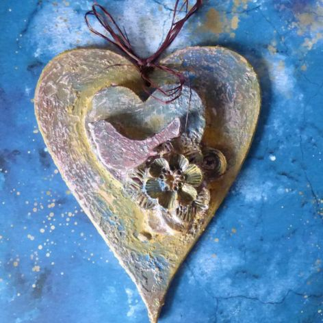 MAGICZNE postarzane serce *96