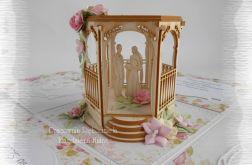Ślubny box z altanką i Parą Młodą
