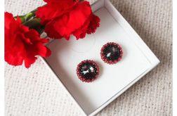 Czerwono-czarno-szare sztyfty
