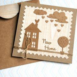 na PARAPETÓWKĘ :: kartka handmade I