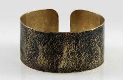 Kamień - mosiężna bransoleta 200207-02