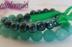 Jadeit i hematyt - kamienie naturalne