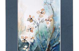 Jesienna hortensja