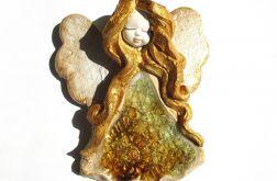 Anioł ceramiczny Basia 33 chrzest ślub