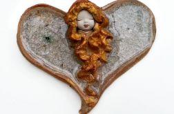 Anioł ceramiczny Dosia 16