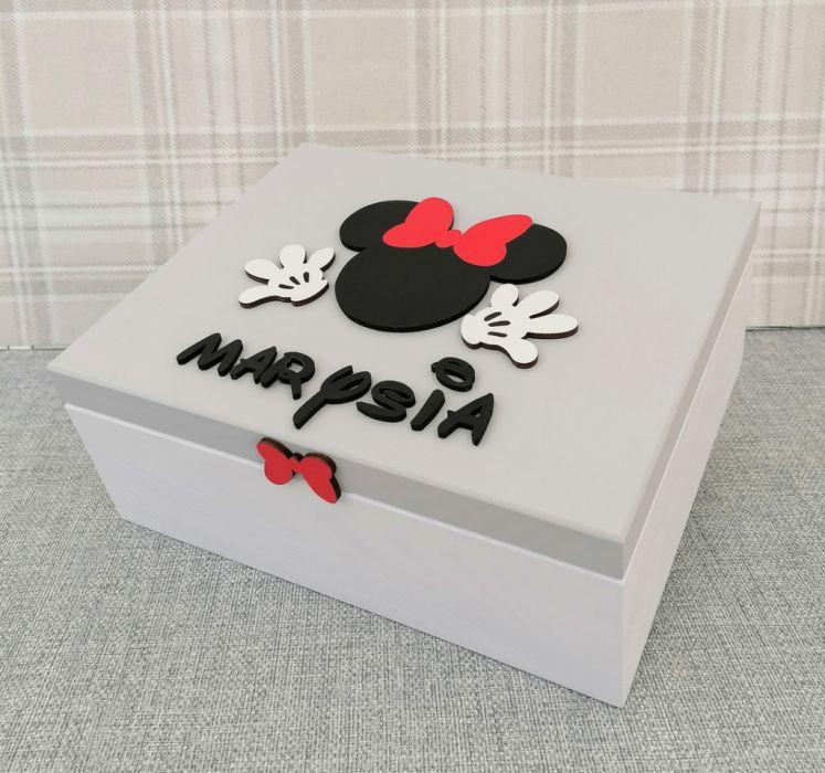 Pudełko bez przegródek z imieniem - MmC14